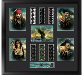 Pirates of the Caribbean On Stranger Tides Framed Film Cell Pirates
