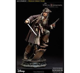 Pirates of the Caribbean On Stranger Tides Premium Format Figure 1/4 Captain Jack Sparrow 51 cm