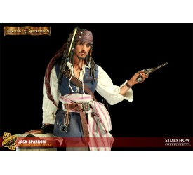 Pirates of the Caribbean Premium Format Figure 1/4 Jack Sparrow Sideshow Exclusive 48 cm