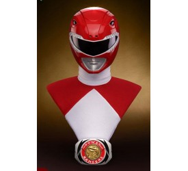 Power Rangers Bust 1/1 Red Ranger 63 cm