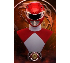 Power Rangers Bust 1/1 Red Ranger PCS Exclusive 63 cm