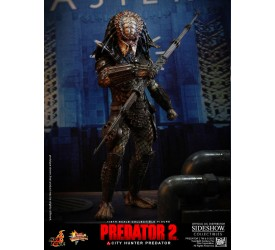 Predator 2 Movie Masterpiece Action Figure 1/6 City Hunter Predator 36 cm