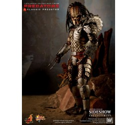Predators Movie Masterpiece Action Figure 1/6 Classic Predator 30 cm (damaged outer shipper)