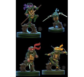 Teenage Mutant Ninja Turtles Q-Fig Figure Whole Set 13 cm