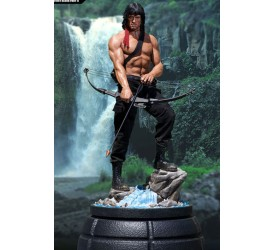 Rambo First Blood Part II Mixed Media Statue 1/3 John Rambo 84 cm