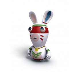 Raving Rabbids Travel in Time Indian Rabbid PVC figure