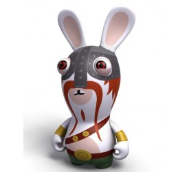 Raving Rabbids Travel in Time Viking Rabbid PVC figure