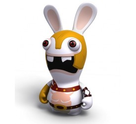 Raving Rabbids Travel in Time Gladiator Rabbid PVC figure