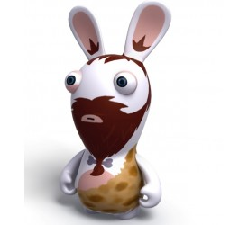 Raving Rabbids Travel in Time Caveman Rabbid PVC figure
