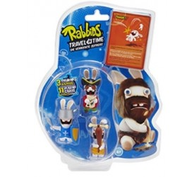 Raving Rabbids Travel in Time PVC 3pack A