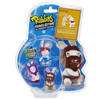 Raving Rabbids Travel in Time PVC 3pack C