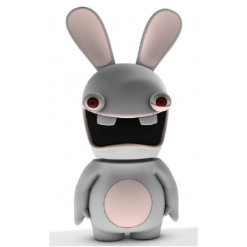 Raving Rabbids - Screaming Rabbid Resin Bobble Head 9.5 inches