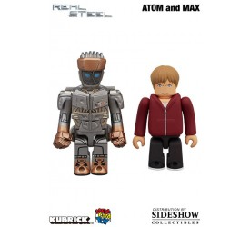 Real Steel Kubrick and Berbrick Figure 2-Pack Atom and Max 5 cm