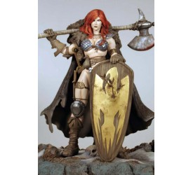 Red Sonja Statue Frank Cho 20 cm