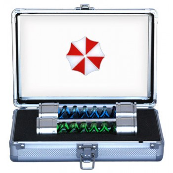 Resident Evil Replica 1/1 T-Virus & Anti-Virus with Aluminium Case