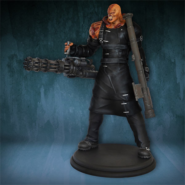 Resident Evil Statue 1 4 Nemesis 76 Cm