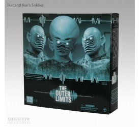 Sideshow Outer Limits Serie 2 - Ikar and Ikars Soldier 12 inch Figure