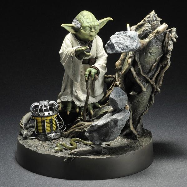 Star Wars Artfx Statue 1 7 Yoda Empire Strikes Back