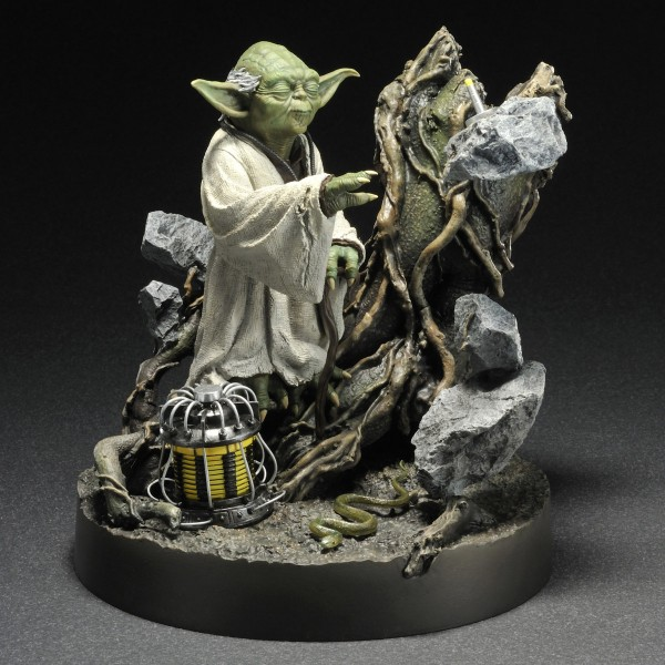 Star Wars Artfx Statue 1 7 Yoda Empire Strikes Back