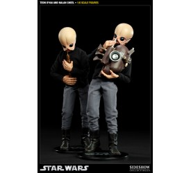 Star Wars Action Figure 2-Pack 1/6 Tedn Dhai and Nalan Cheel 30 cm