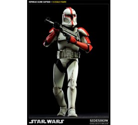Star Wars Action Figure 1/6 Republic Clone Captain 30 cm