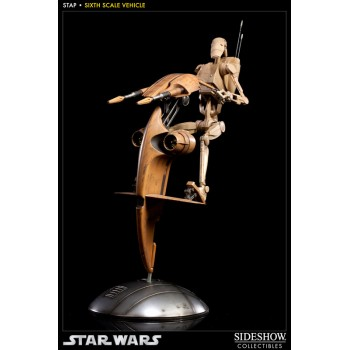 Star Wars Action Figure 1/6 S.T.A.P. and Battle Droid 34 cm