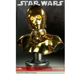 Star Wars C-3PO Life size Bust Special Edition (Battle Damaged Version)