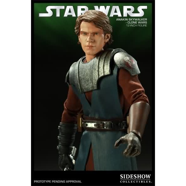 Star Wars Clone Wars Anakin Skywalker 12 Inch Figure