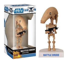 Star Wars - Clone Wars - Battle Droid Wacky Wobbler