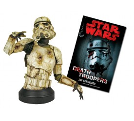 Star Wars Death Trooper Mini Bust with Paperback Novel