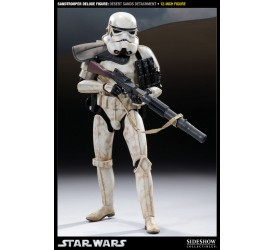 Star Wars Deluxe Action Figure 1/6 Sandtrooper Desert Sands Detachment 30 cm