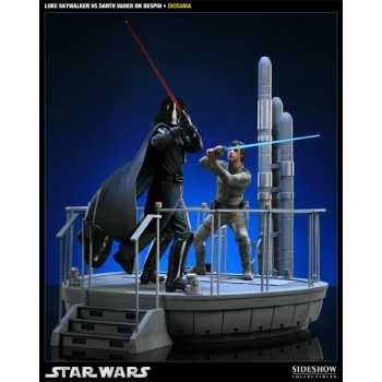 Star Wars Diorama I Am Your Father (Luke Skywalker vs Darth Vader on Bespin)