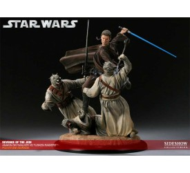 Star Wars Diorama Revenge of the Jedi (Anakin vs Tusken Raiders) 33 cm