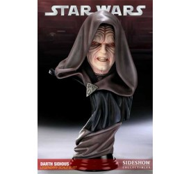 Star Wars Legendary Scale Bust Darth Sidious 42 cm