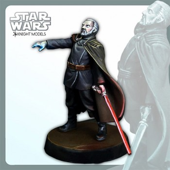 Star Wars Miniature Model Kit Count Dooku 30 mm