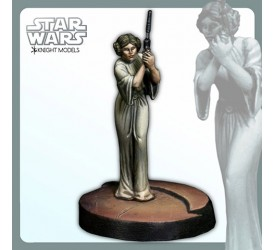 Star Wars Miniature Model Kit Leia Organa 30 mm