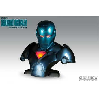 Stealth Iron Man Legendary Scale Bust
