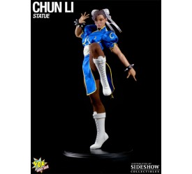 Street Fighter: Chun-Li Mixed Media Statue