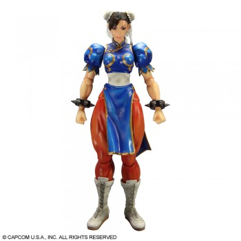 Super Street Fighter IV Play Arts Kai Action Figure Chun Li 23 cm