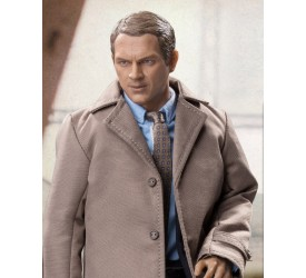 Steve McQueen Detective Costume Set for 1:6 Scale Figures