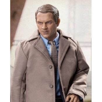Steve McQueen Detective Costume Set for 1:6 Scale Figures