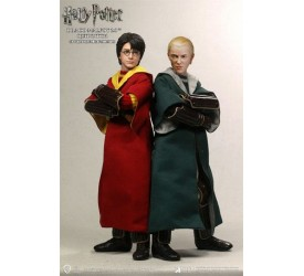 Harry Potter Action Figure 1/6 2-Pack Harry Potter & Draco Malfoy 2.0 Quidditch Version 26 cm