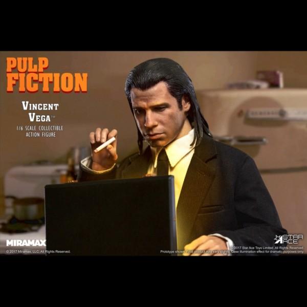 Pulp Fiction Vincent Vega 1 6 Scale Figure