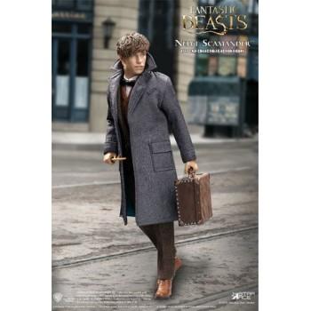 Fantastic Beasts My Favourite Movie Action Figure 1/6 Newt Scamander Grey Coat Ver. 30 cm