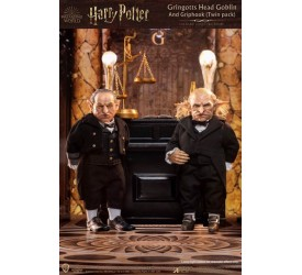 Harry Potter My Favourite Movie Action Figures 1/6 Gringotts Head Goblin and Griphook 20 cm