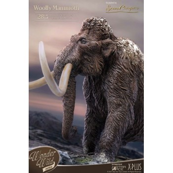Historic Creatures The Wonder Wild Series Statue The Woolly Mammoth 28 cm