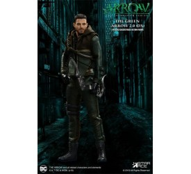 Arrow Real Master Series Action Figure 1/8 Green Arrow 2.0 Deluxe Version 23 cm