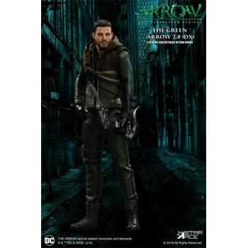 Arrow Real Master Series Action Figure 1/8 Green Arrow 2.0 Deluxe Version 23 cm
