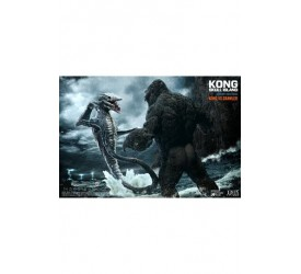 Kong Skull Island Deform Real Series Statues Kong vs Skull Crawler Normal Version 32 cm