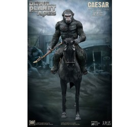 Dawn of the Planet of the Apes Soft Vinyl Statue Caesar with Spear 39 cm